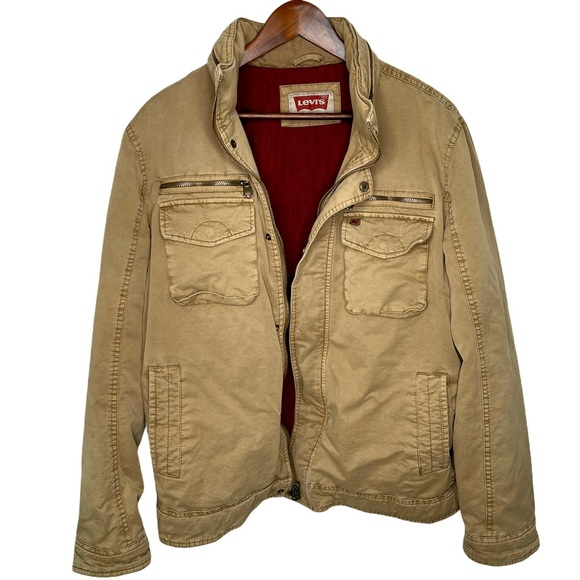 Vintage Levi's Khaki Men's Jacket